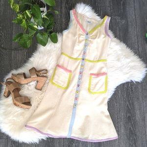 MOSCHINO - Pastel Button-down Dress